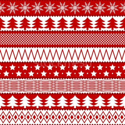 christmas pattern red and white red and white christmas pattern vector illustration