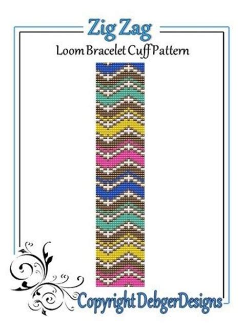 zig zag peyote pattern 1000 images about loom bead patterns 2 on pinterest