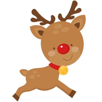 clipart reindeer christmas reindeer scrapbook cut file cute clipart files
