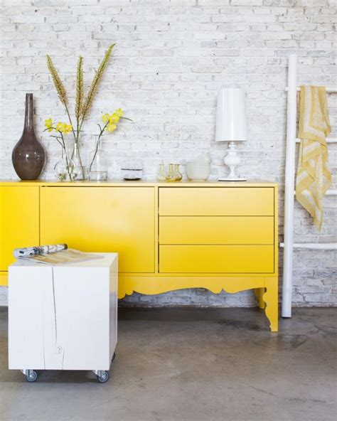Yellow Buffet Cabinet Bright Yello Ideas In The Portfolio Of The Photographer