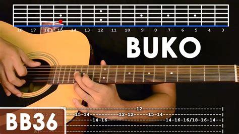 guitar chords buko astar tutorial