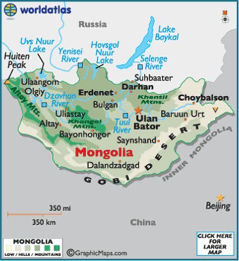 5 themes of geography mongolia mongolia map geography of mongolia map of mongolia