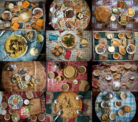 eat documenting dinners   world