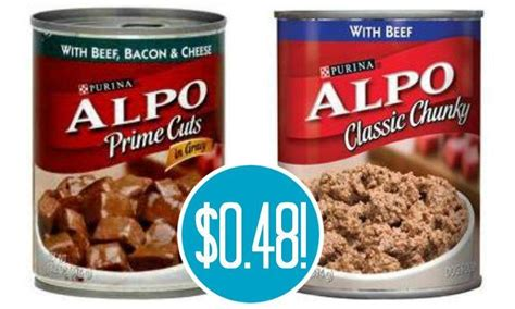 dog food coupons alpo alpo canned dog food coupons 0 48 at target