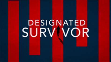 designated survivor logo designated survivor tv series wikipedia