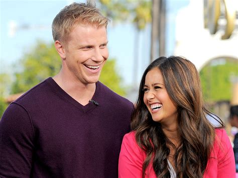 sean and catherine the bachelor s sean lowe and catherine giudici talk first