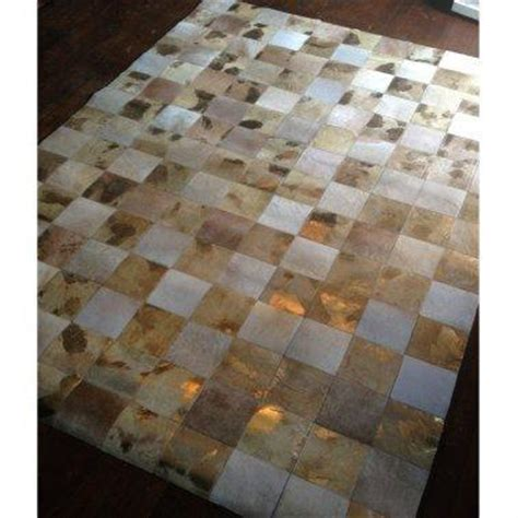 Patchwork Hide Rug - new midas touch hide patchwork from the bedroom