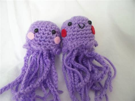 knitted jellyfish jonathan dodd the jelly and the fish again