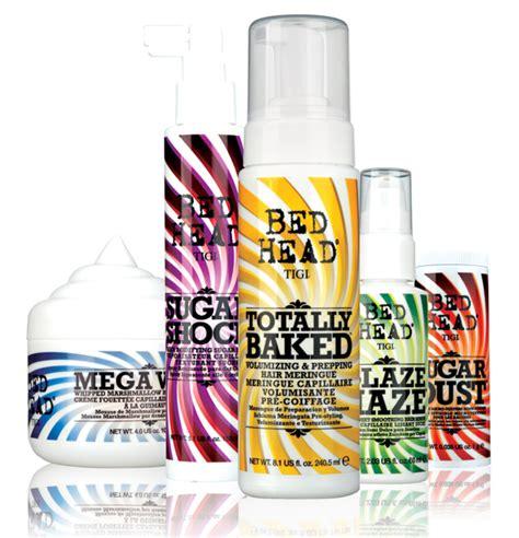 bed head sugar dust new launch tigi bed head candy fixation escentual s