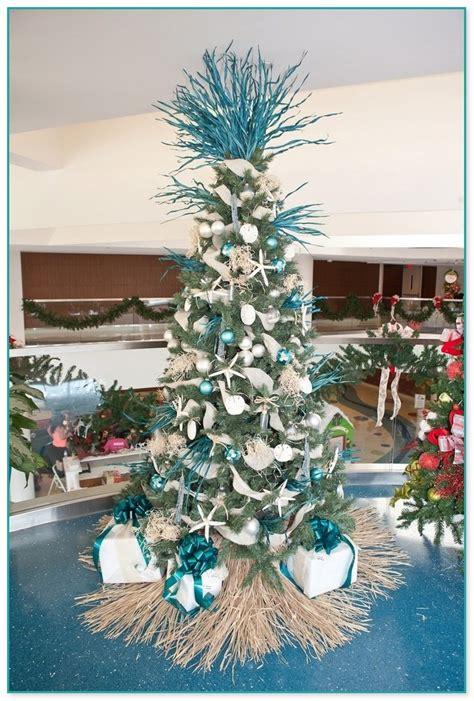 beach themed christmas tree