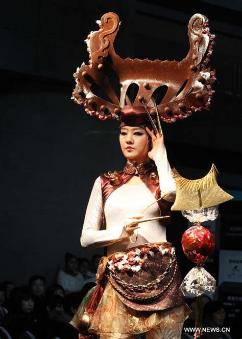 Chocolate Wardrobe by Chocolate Fashion Show Held In Shanghai S Daily