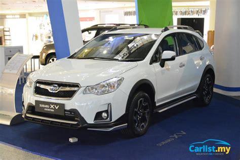 subaru malaysia subaru xv crosstrek introductory price from rm119 500