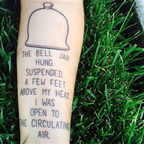 bell jar tattoo the bell jar bell jars and le veon bell on