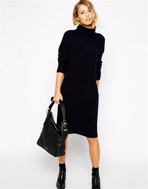 knit dress style keke palmer s turtleneck black knit dress