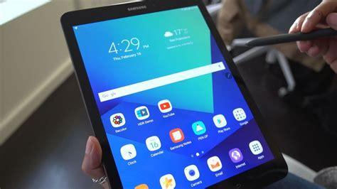 Samsung Tab 4 Saat Ini galaxy tab s3 impression pada mwc 2017 nanasdroid