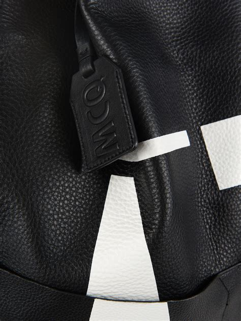Oracle Leather mcq oracle leather backpack in black for lyst