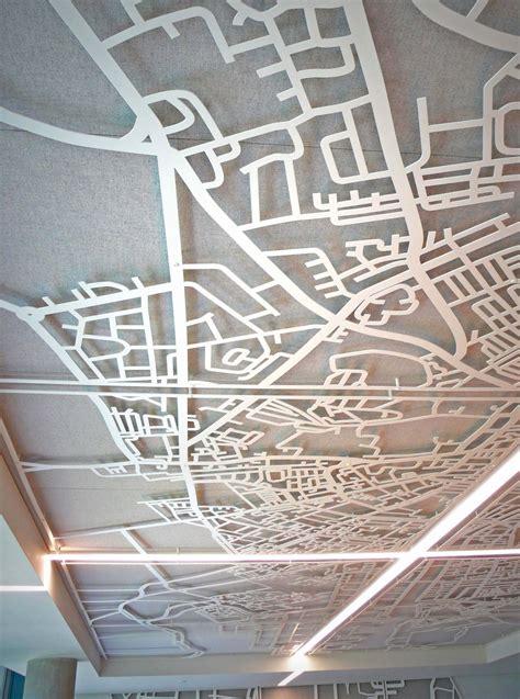 ceiling layout laser laser cut screens quartz building dublin suspended