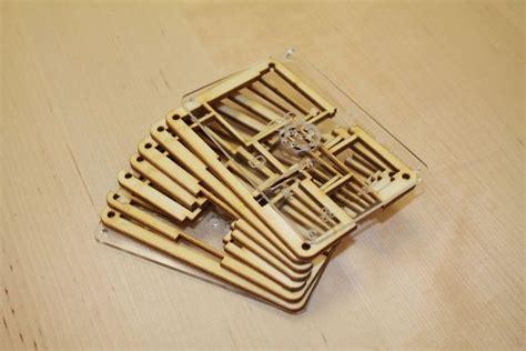 Raspberry Pi Wooden Case Coreldraw Laser Templates