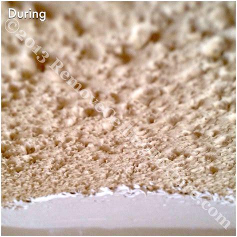 ceiling refinishing process removeceilingtexture