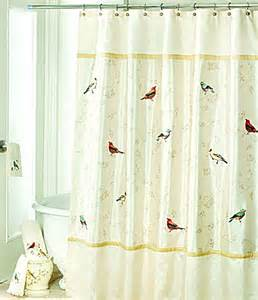 avanti linens gilded birds shower curtain dillards