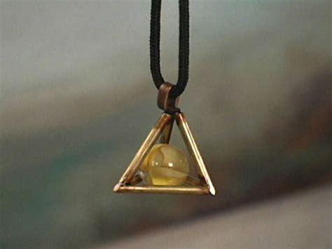 brass pyramid pendant necklace hgtv