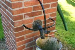 tuin waterpomp vakantiehuis hoeve de moate in vorden