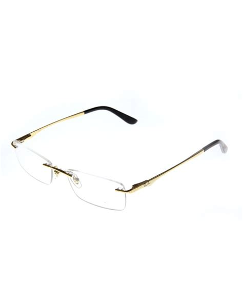 ban rimless golden eyeglasses buy ban rimless golden eyeglasses at low