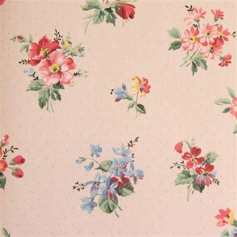 vintage flower wallpaper vintage floral wallpapers