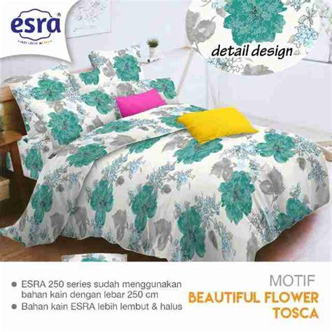 Sprei Motif Tosca detail produk sprei dan bedcover beautiful flower tosca