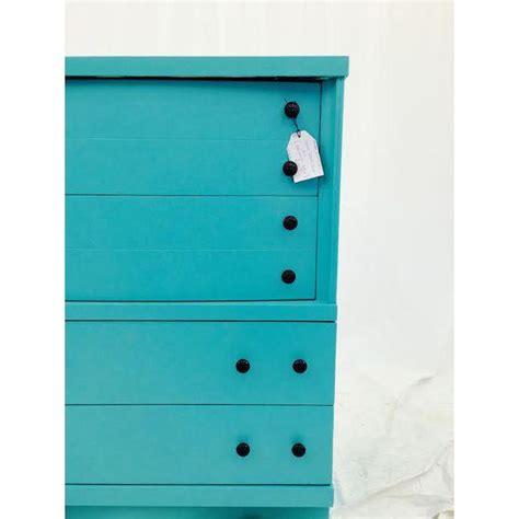 Painted Blue Dresser by Aqua Painted Blue Dresser Chairish