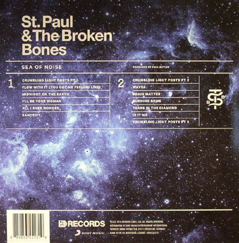 st paul and the broken bones sea of noise vinyl st paul the broken bones sea of noise vinyl at juno records