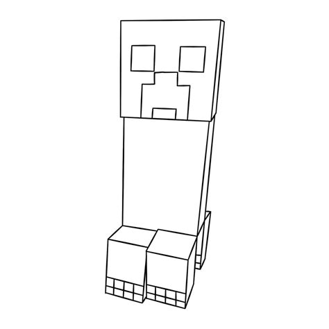 free coloring pages of minecraft ausmalbilder