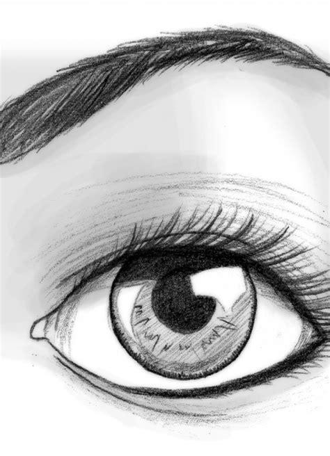 imagenes a lapiz sombreadas ojos para dibujar