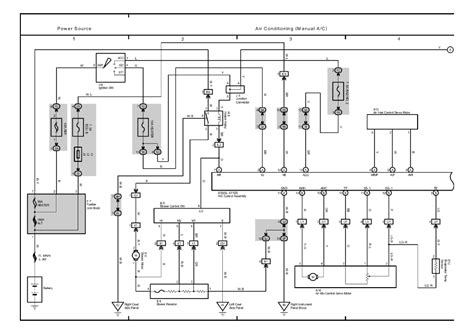 auto air conditioning repair 2003 toyota highlander security system toyota highlander air conditioning diagram get free image about wiring diagram