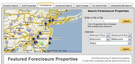 Nj Search Free Free Search Of All Foreclosures In New Jersey