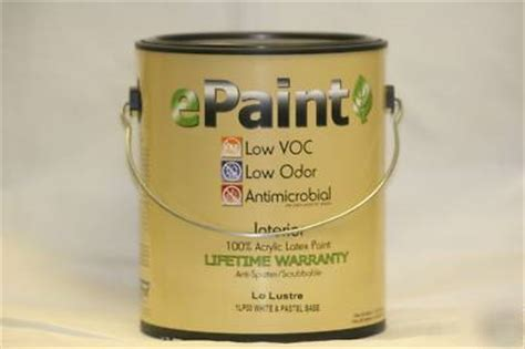 best low odor paint epaint antimicrobial interior acylic paint low odor voc