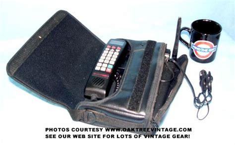 vintage brick cell phones  school bag car phones