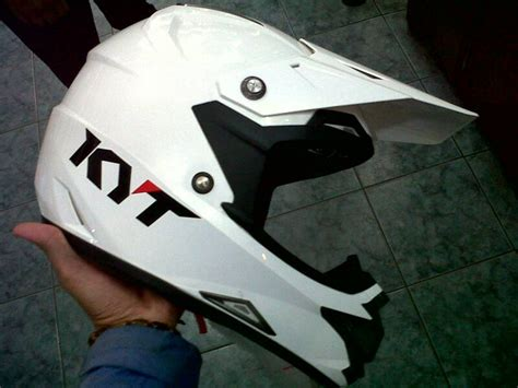 Helm Kyt Name jual helm kyt trail cros putih kabisamx trailshop