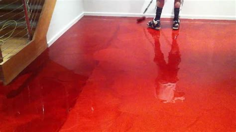 red floor paint red epoxy garage floor paint gurus floor