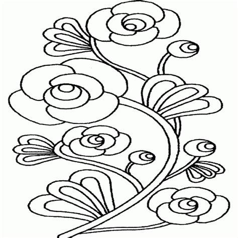 Disegni Fiori Da Colorare E Stampare in Fiori Da Colorare