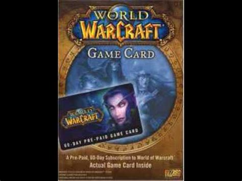 World Of Watches Gift Card - free world of warcraft game time cards youtube