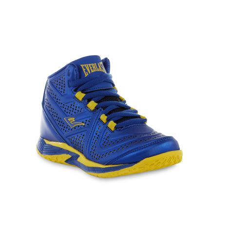 best athletic shoes for boys everlast 174 boy s cayenne blue yellow high top athletic shoe