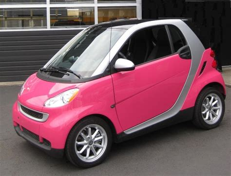 pink smart cars ok this is my car seriously ashlyn s style