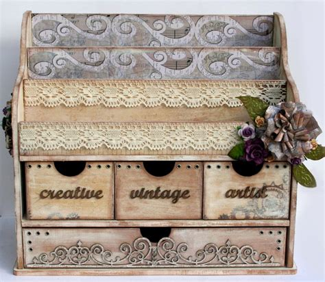 Vintage Desk Organizer by Simply Renee Inc Vintage Desk Organizer