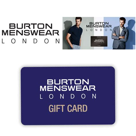 Burton Gift Card - full wedding gift list range the gift list