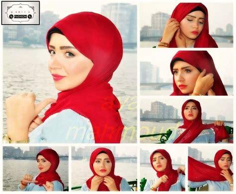 tutorial hijab simple ke pesta tutorial hijab pesta simple just trendy girls