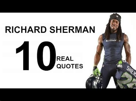richard sherman the inspiring story of one of football s greatest cornerbacks books richard sherman 10 real quotes on success inspiring