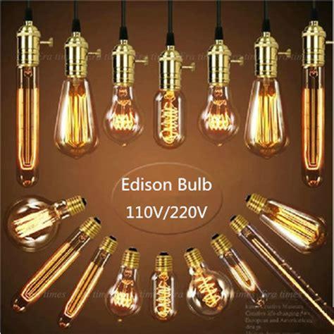 aliexpress buy vintage edison bulb st64 g80 a19 e27