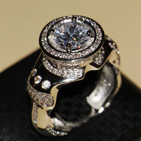 get cheap mens sapphire rings aliexpress