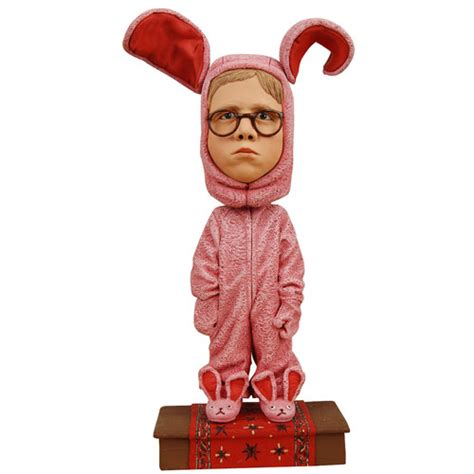 christmas story ralphie bunny suit bobble head neca